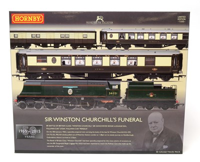 Lot 656 - A Hornby Limited Edition of 1500 00-gauge train pack.
