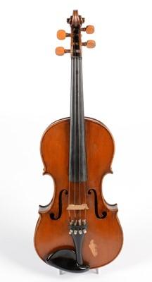 Lot 274 - Violin labelled Carlo Fissorie 1887
