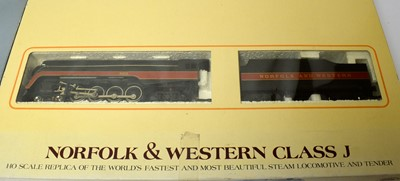 Lot 674 - Two boxed Bachmann HO-gauge trains.