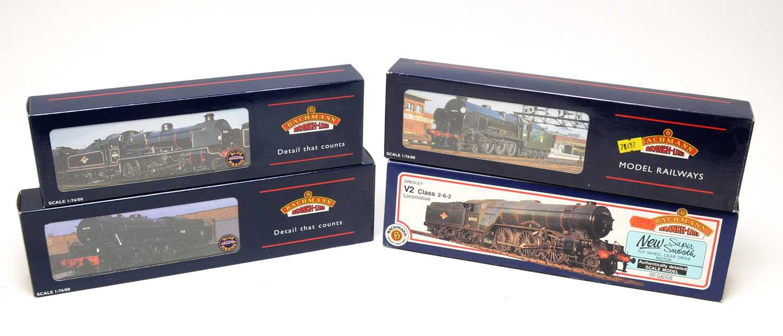 Lot 676 - Four Bachmann 00-gauge Branchline boxed trains.