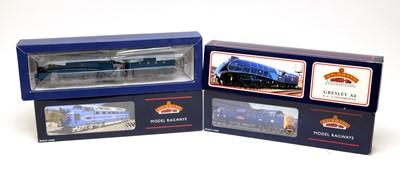 Lot 677 - Four Bachmann 00-gauge Branchline Model Railway trains.