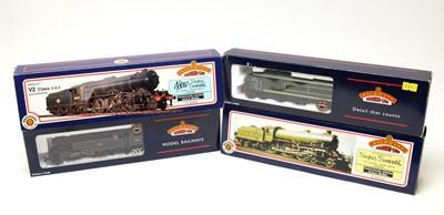 Lot 681 - Four Bachmann 00-gauge Branchline boxed locomotives.