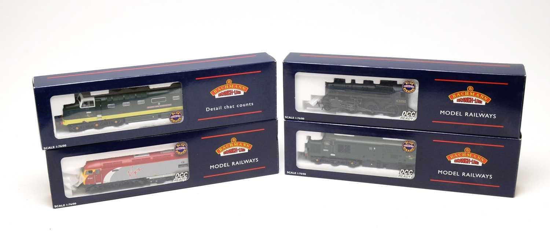 Lot 682 - Four Bachmann 00-gauge Branchline Model Railways boxed trains.