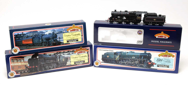 Lot 683 - Four boxed Bachmann 00-gauge Branchline Model Railway locomotives.