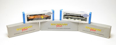 Lot 692 - Five Bachmann HO-gauge boxed trains.