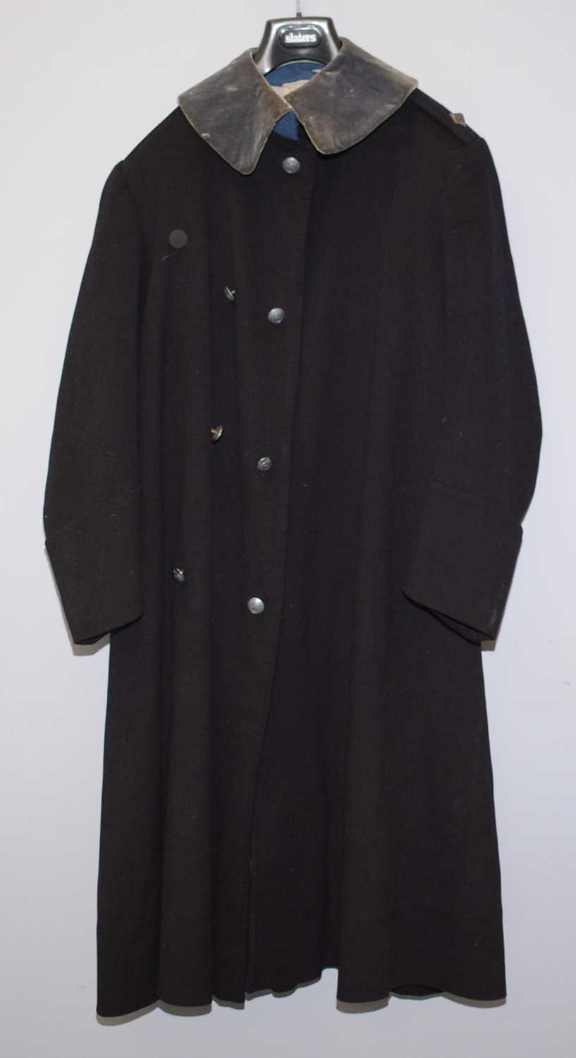 Lot 1071 - Military overcoat for Northumberland Hussars