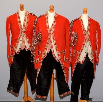 Lot 1199 - Three 20th Century Footman's uniforms