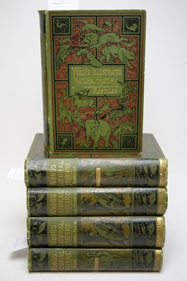 Lot 236 - Five volumes of Wood's Illustrated Natural History