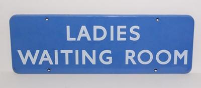 Lot 1222 - British Railways (BR) Scottish Ladies Waiting Room sign