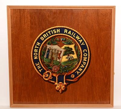 Lot 1210 - The North British Railway Company door panel
