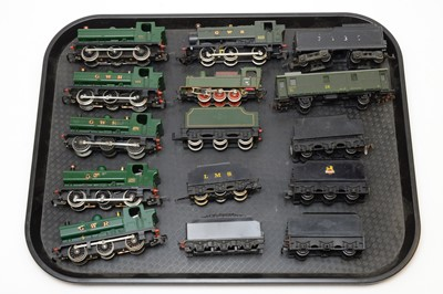 Lot 765 - Unboxed 00-gauge LIMA and other locomotives and tenders
