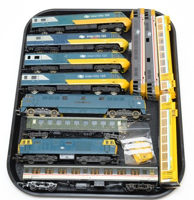 Lot 771 - Unboxed Inter-City trains and carriages.