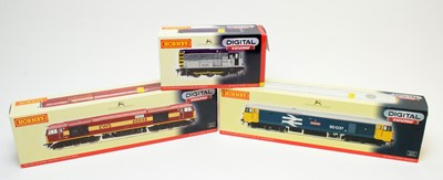 Lot 790 - Three boxed Hornby trains.