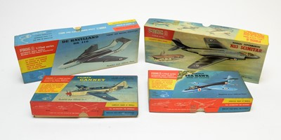 Lot 806 - Four boxed Frog scale model construction kits.