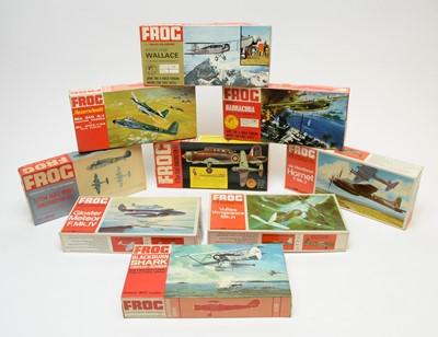 Lot 807 - Nine boxed Frog model construction kits.