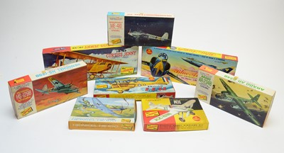 Lot 812 - Eight boxed Lindberg Line model construction kits.
