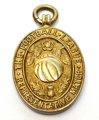 Lot 1264 - The Football League Representative Match medal, awarded to Stanley (Stan) Anderson