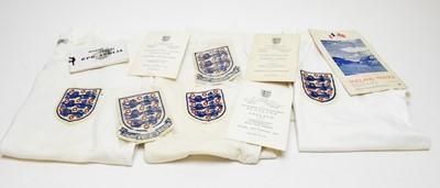 Lot 1268 - England Under-23 football items