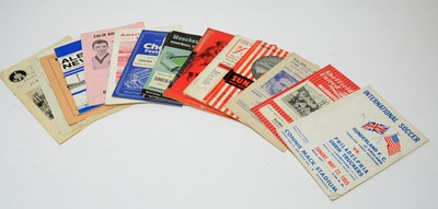 Lot 1269 - FA Cup football programs from the 1950s and 60s