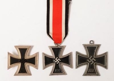 Lot 1027 - Group of three 1939 Iron Crosses