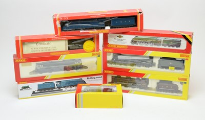 Lot 863 - Eight boxed Hornby locomotives.