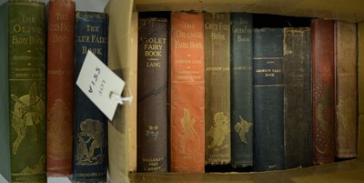 Lot 551A - Lang, Andrew; all twelve volumes of The Fairy Books.