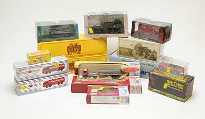 Lot 847 - Fifteen boxed scale model vehicles.