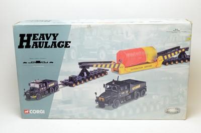 Lot 854 - A Corgi boxed Heavy Haulage Limited Edition set.