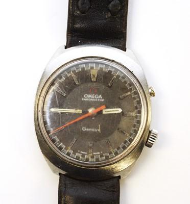 Lot 11 - A gentleman's Omega Chronostop wristwatch.