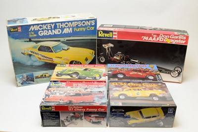 Lot 857 - Boxed Revell scale model vehicles.