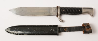 Lot 1043 - WWII German Hitler Youth knife