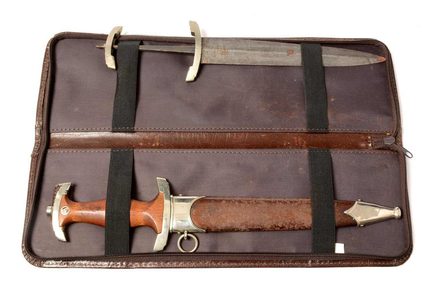 Lot 1046 - Two WWII type SA Daggers