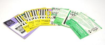 Lot 1252 - Newcastle United Fair's Cup football programmes
