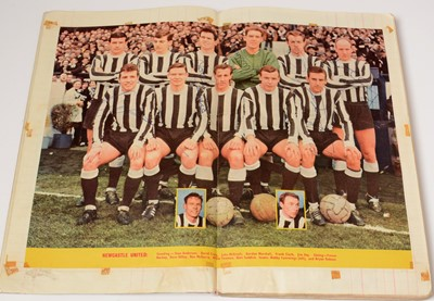 Lot 1246 - Newcastle United Football Club 1960s autographs