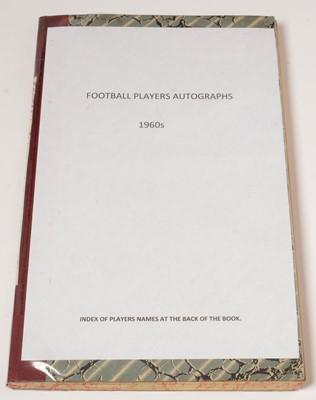 Lot 1249 - Football players autographs