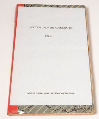 Lot 1239 - Football players autographs from the 1960s