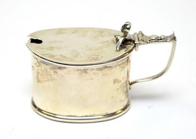 Lot 61 - A George V silver mustard