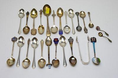 Lot 71 - Antique silver spoons.