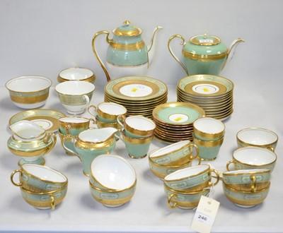 Lot 246 - Royal Doulton tea service and similar Aynsley tea and coffee ware