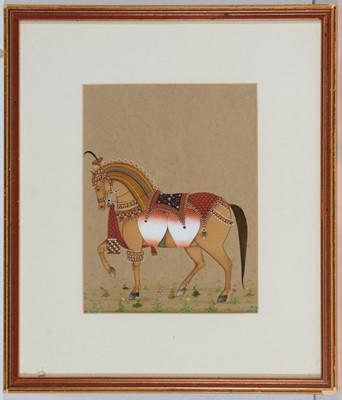 Lot 742 - Irshad ul Huq - watercolour.