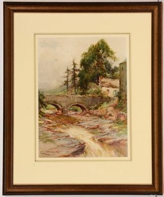 Lot 733 - Harry James Sticks - watercolour.