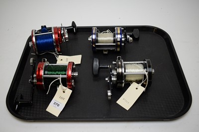 Lot 370 - Selection of four fishing reels