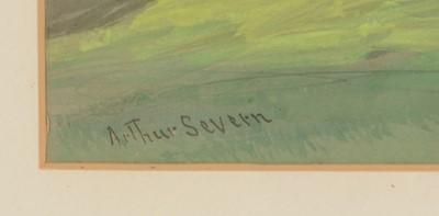 Lot 658 - Arthur Severn - Pastel