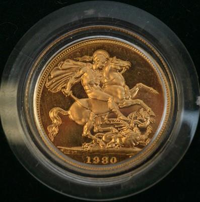 Lot 106A - A 1980 gold sovereign.