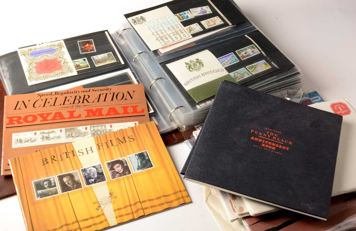 Lot 4 - Presentation packs and other booklets.
