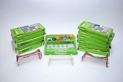 Lot 445 - Selection of Subbuteo table soccer team sets