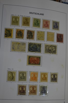 Lot 83 - A Davo album of German stamps