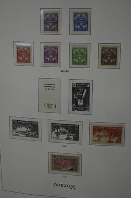 Lot 84 - Monaco Lighthouse stamp album, 1885-1974