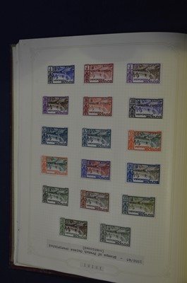 Lot 86 - Two albums of French Colonies stamps, nice...