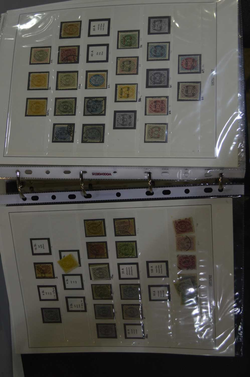 Lot 87 - Two binders of Iceland stamps